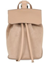 Desa Nineteenseventytwo Small Fourty Four Suede Backpack