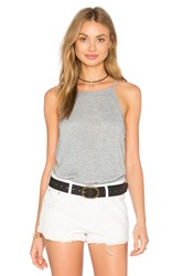 Project Social T Sydney Shirttail Tank Gray