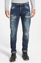 Men's Prps 'Fury Climbing Aster' Slim Fit Jeans Indigo