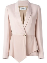 Chalayan Sculptured Jacket Pink And Purple