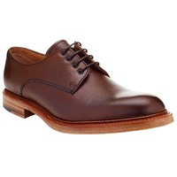 John Lewis And Co. Made In England Leather Derby Shoes Ox Blood