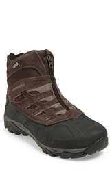 Merrell 'Moab Polar' Waterproof Snow Boot Men Black Slate
