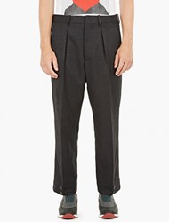 Marni Black Loose Fit Trousers