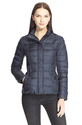Burberry Brit 'Dalebury' Down Jacket Dark Indigo