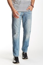 Gilded Age Distressed Light Wash Jean Blue