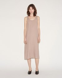 Moderne Slip Dress Beige