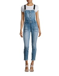 Blank Nyc Cotton Blend Jumpsuit Skinny Dipper