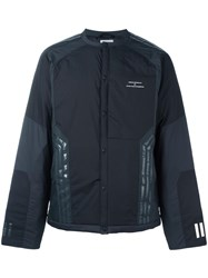 Adidas By White Mountaineering Padded Cardigan Jacket Black
