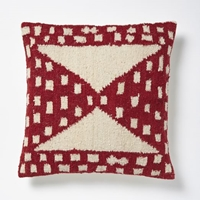 Hourglass Pillow Cover Chili West Elm