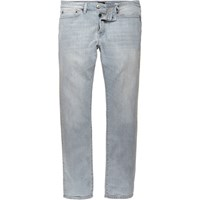 River Island Mens Light Grey Wash Dylan Slim Fit Jeans