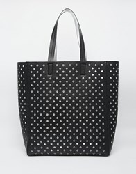 New Look Perf Shopper Black