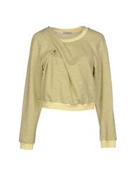 Emma Cook Sweatshirts Light Yellow
