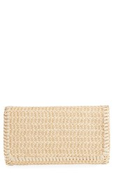 Chelsea 28 Chelsea28 Mini Straw Chain Clutch
