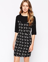 Sugarhill Boutique Party Tiger Dress Black