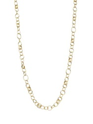 Ippolita Glamazon Sculptural Metal 18K Yellow Gold Classic Layer Chain Necklace