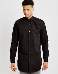 Only And Sons Mens Long Sleeve Shirt Black