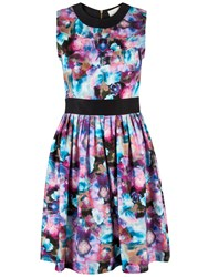 Almari Water Floral Dress Multi Coloured