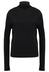 Filippa K Long Sleeved Top Black
