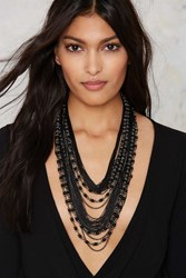 Nasty Gal Layer After Year Chain Necklace