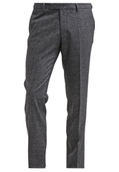 Oscar Jacobson Damien Trousers Mottled Black