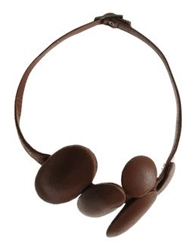 Maurizio Pecoraro Necklaces Brown