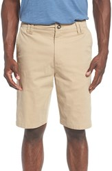 O'neill Men's 'Contact' Stretch Twill Shorts Khaki