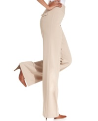 Style And Co. Stretch Wide Leg Pants Sandstorm