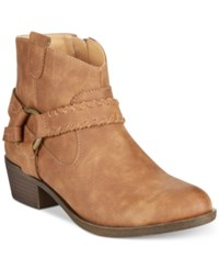Xoxo Jillian Western Ankle Booties Women's Shoes