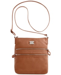 Style And Co. Veronica Crossbody Whiskey