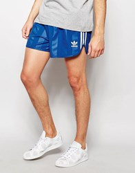 Adidas Originals Retro Shorts Aj6933 Blue