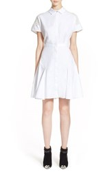 Women's Prabal Gurung A Line Cotton Shirtdress