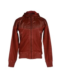 Diadora Heritage Coats And Jackets Jackets Men Maroon