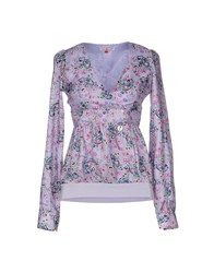 Only 4 Stylish Girls By Patrizia Pepe Shirts Blouses Women Lilac