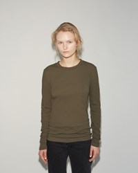 Norse Projects Eli Ribbed Tee Alga Green