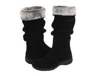 La Canadienne Trevis Black Suede Women's Pull On Boots