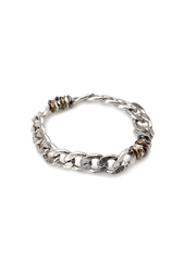 Forever 21 Stretchy Chain Link Bracelet Silver