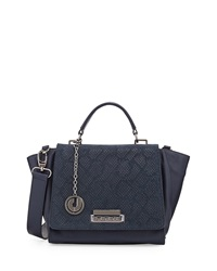 Charles Jourdan Fonda Leather Tote Bag Midnight