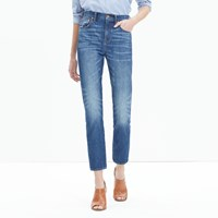 Madewell Tall Cruiser Straight Crop Jeans