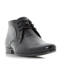 Howick Military Lace Up Formal Boots Black