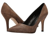 Nine West Flax 5 Natural Combo Black Pony Women's Shoes Animal Print