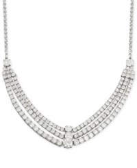 Wrapped In Love Diamond Three Row Necklace 4 Ct. T.W. In 14K White Gold