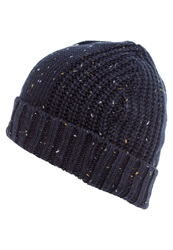 Pier One Hat Navy Melange Dark Blue