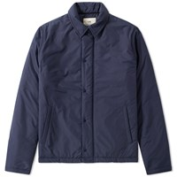 Folk Wadded Pebble Jacket Blue