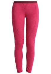 Odlo Revolution Base Layer Sangria Melange Red