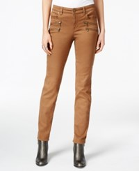 Styleandco. Style Co. Zip Trim Tobacco Wash Skinny Jeans Only At Macy's