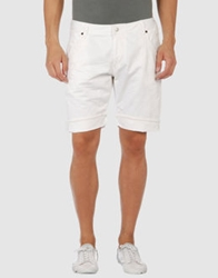 Zu Elements Denim Bermudas White