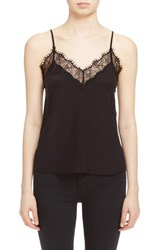 The Kooples Women's Silk And Lace Camisole