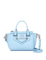 Botkier Dylan Small Leather Satchel Sky Blue