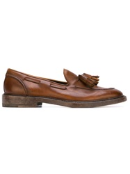 Henderson Fusion Tassel Loafers Brown