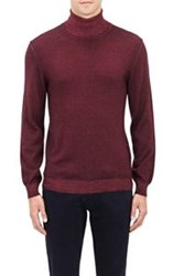 Etro Melange Turtleneck Sweater Red